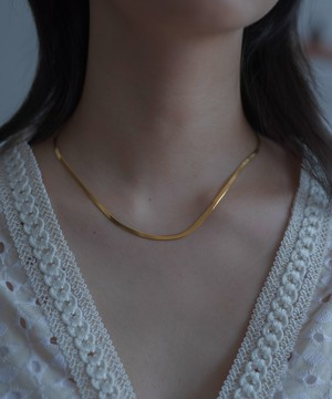 Snake Chain Necklace[Silver925]