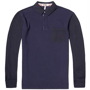 Fred Perry × Nigel Cabourn Football LS Pique Shirt UK40
