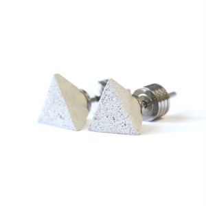 22designstudio Tetrahedron Earring (White) イヤリング CE02002