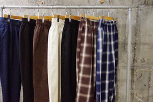Remake wide tapered easy pants