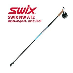 100~135cm SWIX NW AT2, JustGoSport, Just Click NW520-01 トレイル ランニング ノルディック ウォーキング ポール