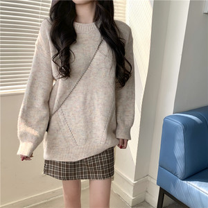 ルーズフィットネップセーター1011-210125012