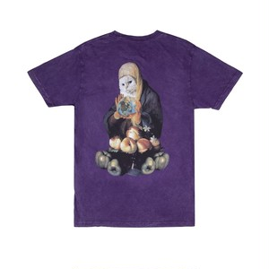 RIPNDIP - World On Fire Tee (Purple Mineral Wash)