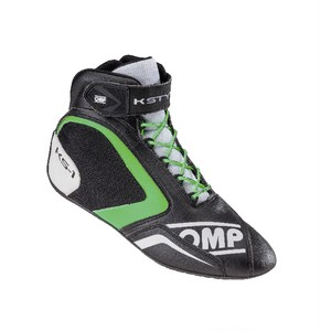 IC/815270 KS-1 SHOES BLACK/WHITE/GREEN