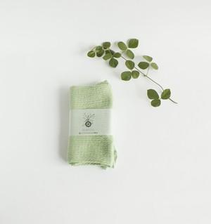 ふわふわ腹巻 絹コットン 桑の葉染め  温活 冷え取り 出産祝い