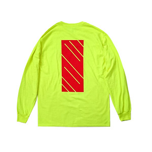 scar /////// MONOLITH L/S TEE (Safety Green)