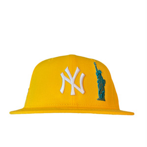 NEW ERA New York Yankees Subway Series 59Fifty Fitted / Yellow×White (Mint Brim)