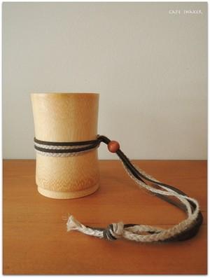 きこり亭の竹コップ