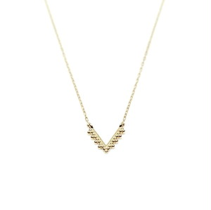 Granulation Necklace - V-shaped