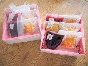 夏のギフトに!フルーツゼリーとレモンケーキ