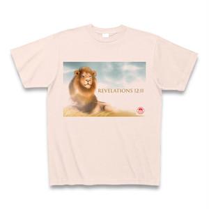 リーハイTシャツ・ライトピンク(黙示録12章11節)