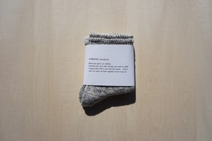 organic cotton socks[gray]