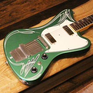 【Summer Sale/アウトレット】HISTORY & KAMINARI GUITARS《KH-CYGNET》/  Apple Green Metalic with Custom Pin-stripe 1本限り38%OFF!!