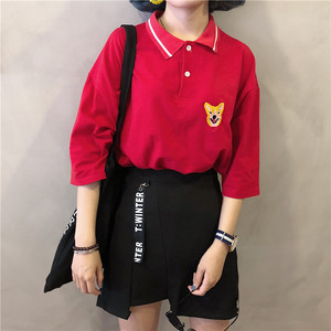 【即納♡】dog point polo shirt 6673