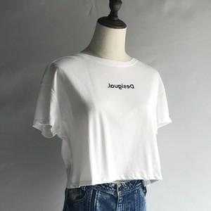 SONER CROP Tシャツ【Desigual】