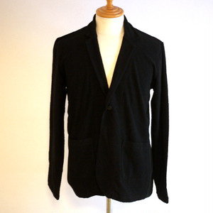 Jacquard Pile Jacket Black