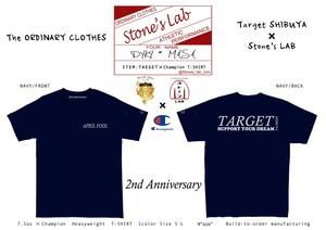 【TARGET SHIBUYA限定】Tシャツ「2nd Anniversary T-SHIRT」