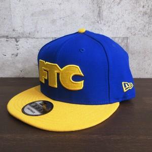 FTC × NEW ERA 刺繍ロゴキャップ