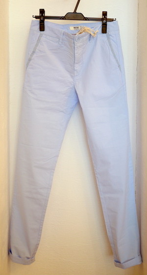 REDSOUL TAPERED TROUSERS LIGHTBLUE