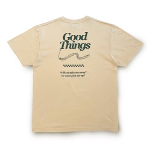 PIZZA  CALL  T-Shirts ( Cream Green )