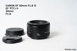 CANON EF 50mm F1.8 Ⅱ キヤノン レンズ