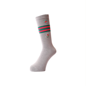 WHIMSY - 32/1 FRESH DELIVERY SOCKS (Grey)