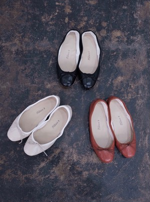 [E.PORSELLI] flat shoes