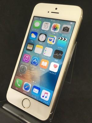 iPhone5s 16GB ゴールド(au)【4230】