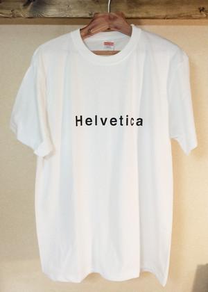 ヘルベチカフォント Tシャツ