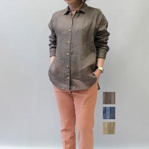 marmors(マルモア) linen shirt 2021春夏物新作   [送料無料]