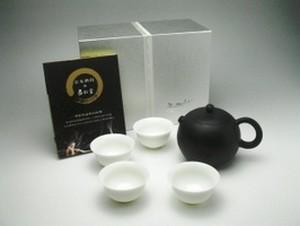 夾炭黒陶(王文玉)西施 (150cc)