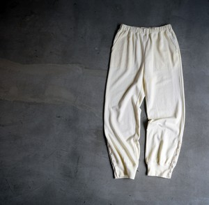 """CaNARi"" Snap sweats pants (black.natural.green)"