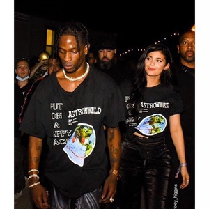 "TRAVIS SCOTT ""HAPPY FACE TEE BLACK"""