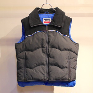 80s Levis DOWN VEST ''BLACK'' / UT1045