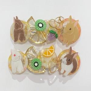 琥珀のゆめ☆螢石のうつつ フルーツシリーズバレッタ (新宿店)