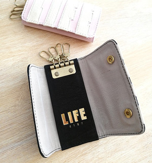 【HALO × LIFEsize】LEATHER KEYCASE