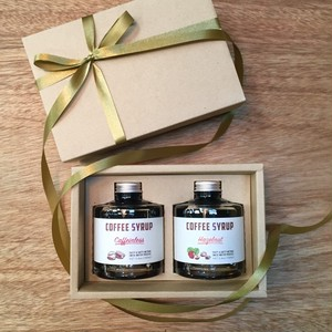 COFFEE SYRUP –GIFT SET– 2本入