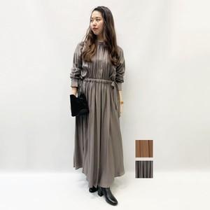 SACRA(サクラ) DRAPE TWILL ONE PIECE 2020秋物新作[送料無料]