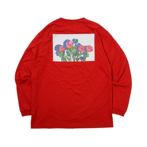 Rose LS Tee RED