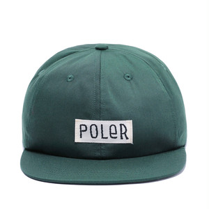 POLeR STUFF-FURRYFONT 6PANEL CAP (ポーラーキャップ)