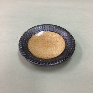 飛カンナ 小皿 黒 [ 10 x 1.5cm ] 【お家で楽しく】
