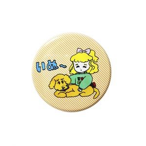 いぬ〜缶バッチ