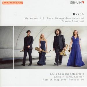 [中古CD] Rasch: バッハ/ガーシュイン/ドナトーニ アルシス・サクソフォン四重奏団