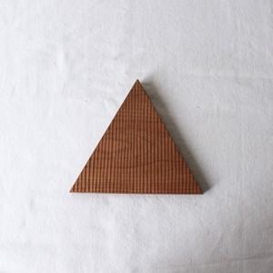 ウッドプレート〔サンカク〕1