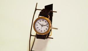 旧漢字の文字盤時計