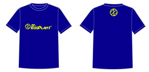 Logo Tシャツ Navy