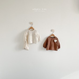 【予約販売】pocket blouse〈aladin kids〉