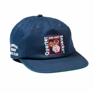 QUARTER SNACKS (クウォータースナックス) / PARTY CAP -NAVY-