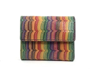 MAGNET Three Fold Compact Wallet Wave