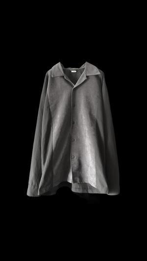 〜90s open collar shirts JKT